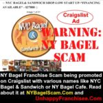 NYC Bagel & Sandwich Shop Franchise is a Craigslist Scam