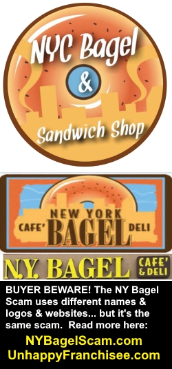 NYC Bagel Sandwich Logo