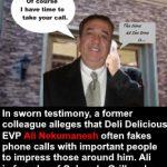 Ali Nekumanesh Fake Cell Calls?