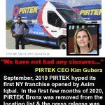 PIRTEK USA Franchise Claims Questioned