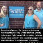 SOMETIMES SPOUSE No Longer Franchising Says CEO Christy Ogle